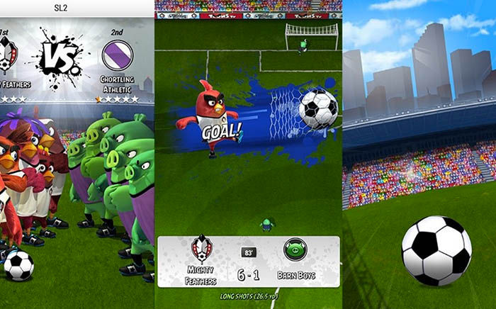Angry Birds Goal Gameplay