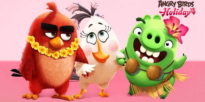 Angry Birds Holiday Juego
