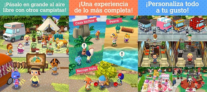 Animal Crossing Pocket Camp espanol
