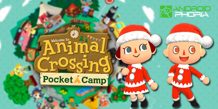 Animal Crossing Pocket Camp evento navidad