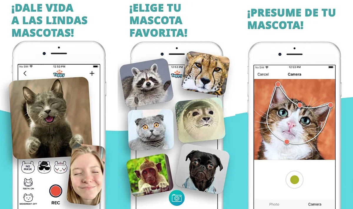 Animales parlantes Android