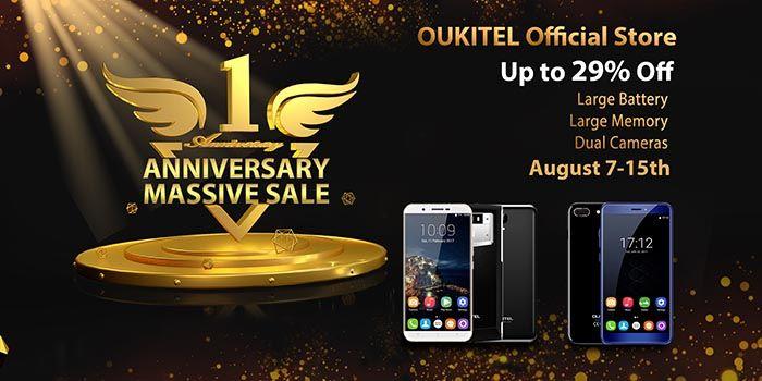 Aniversario ventas Oukitel