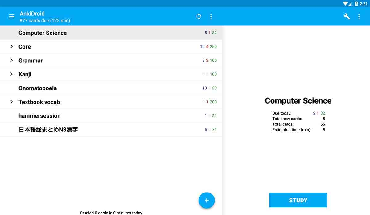 AnkiDroid app código libre Android