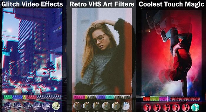 Años 90 Glitch app