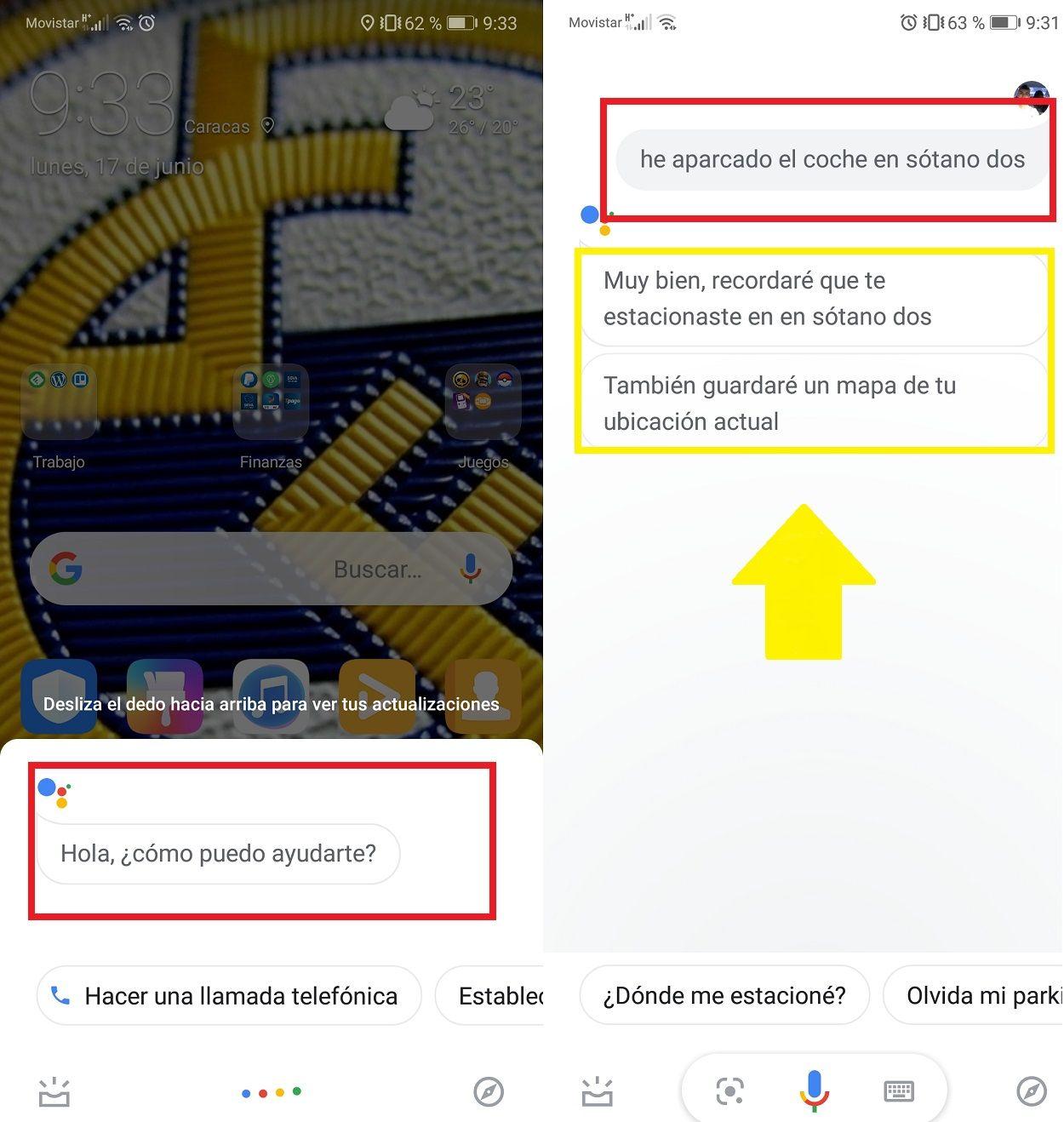 Aparcar Coches Google