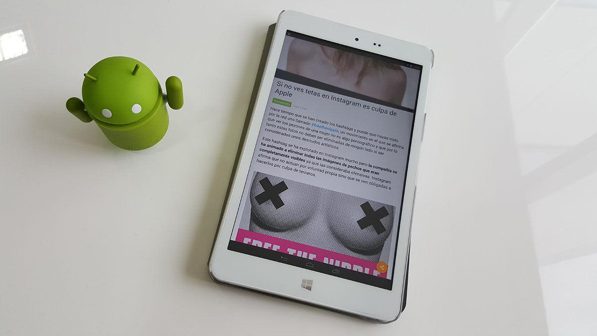Aplicación AndroidPhoria