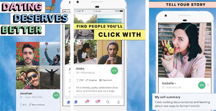 Aplicación de citas para Android
