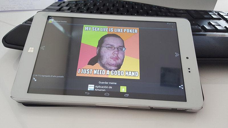 Aplicación para crear memes en Android