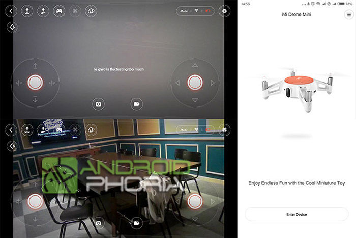 Aplicación Xiaomi Mitu dron