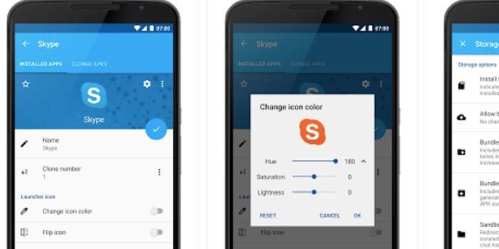 Aplicación para tener dos sesiones abiertas en Android