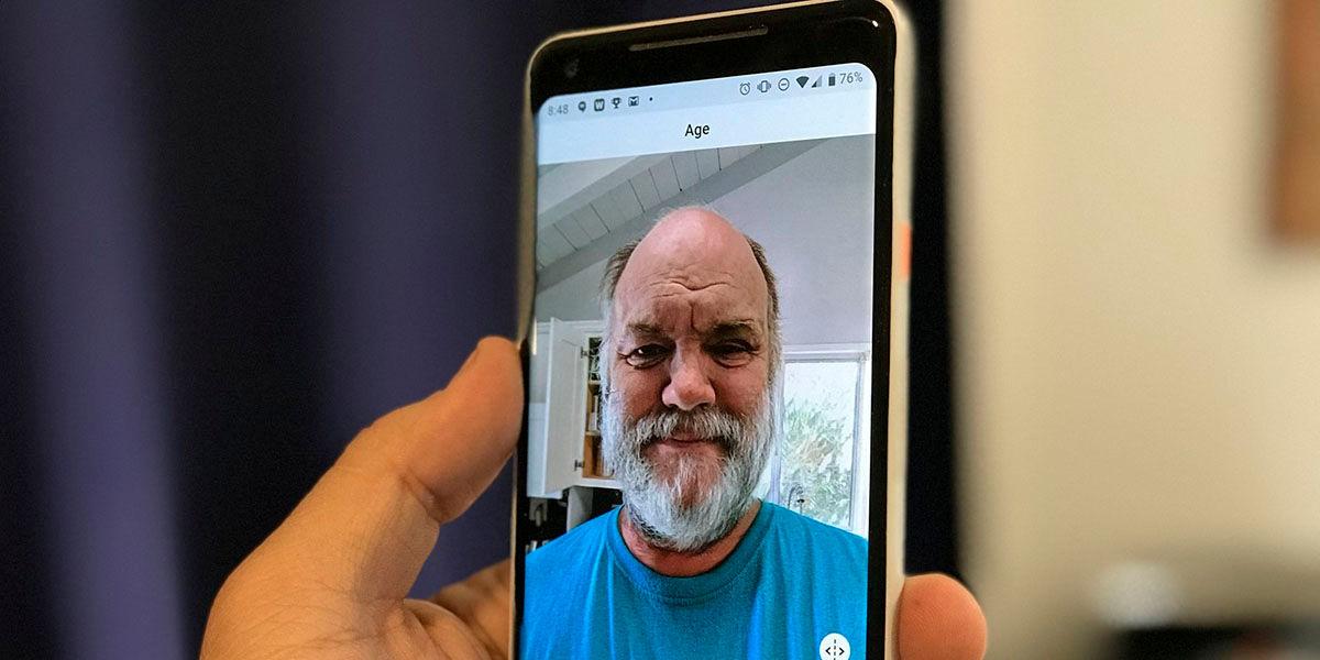 Aplicacion que te hace viejo o mujer descargar