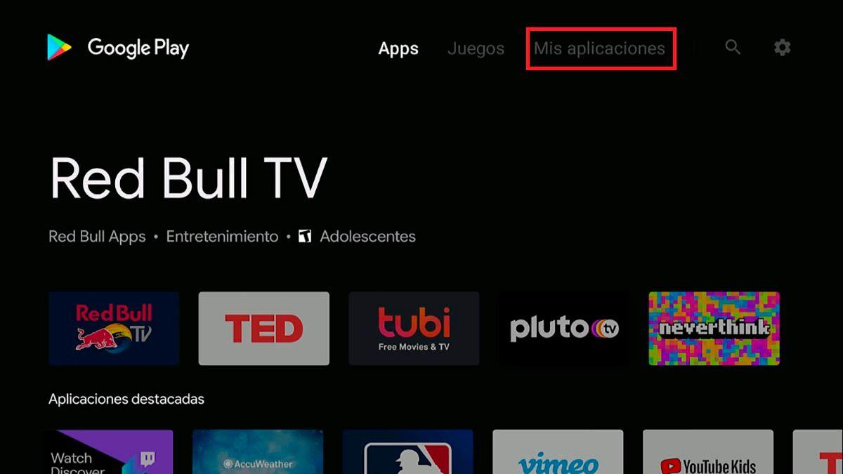 Aplicaciones Android TV
