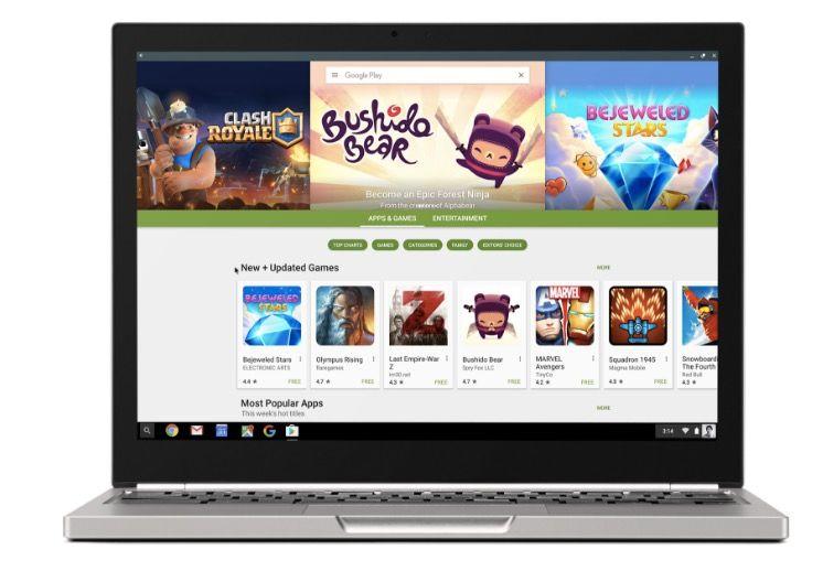 Aplicaciones Android en Chromebook