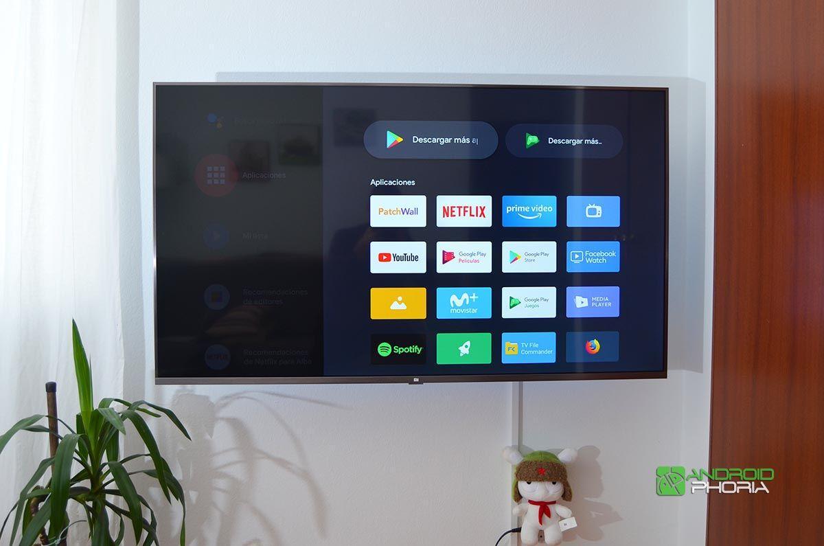 Aplicaciones Xiaomi Mi TV 4S 55
