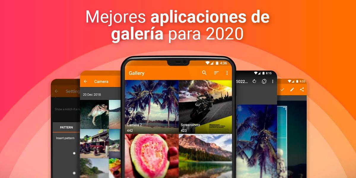 Aplicaciones de Galería para 2020