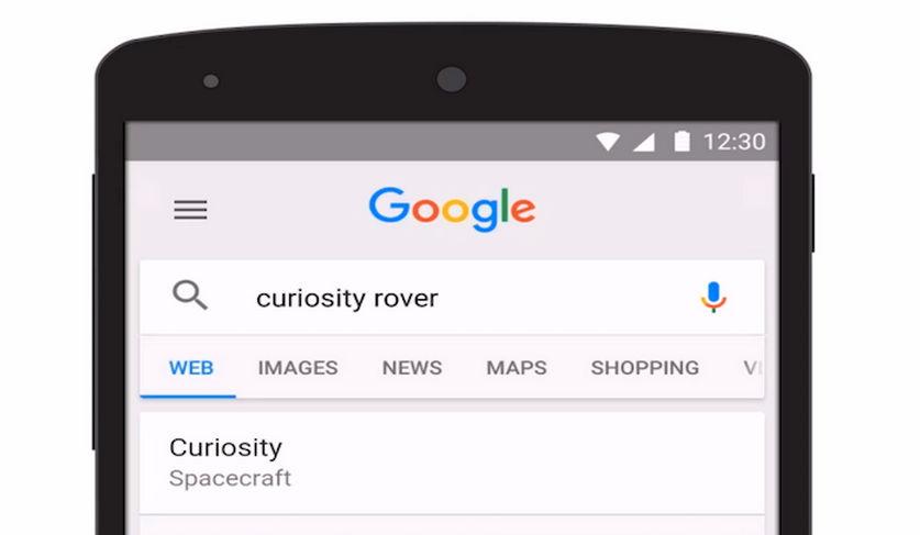Aplicaciones de Google que cambian el icono