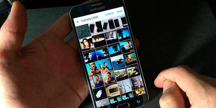 Aplicaciones de galeria de fotos para Android
