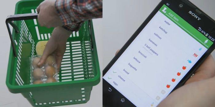 Aplicaciones de listas de compras para Android