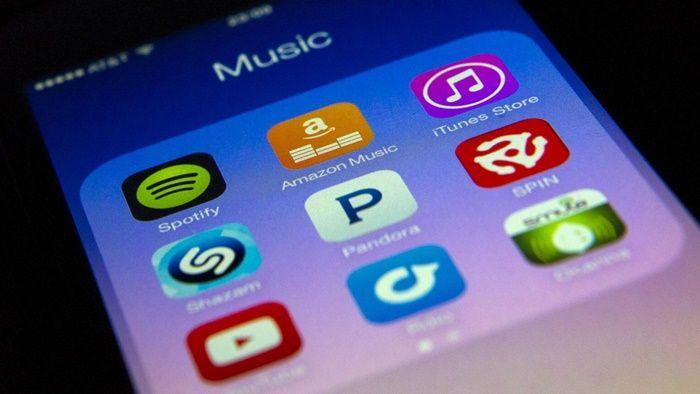 Aplicaciones de musica en smartphone