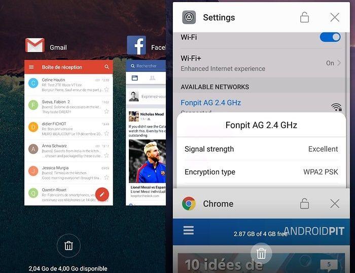Aplicaciones en segundo plano en Android
