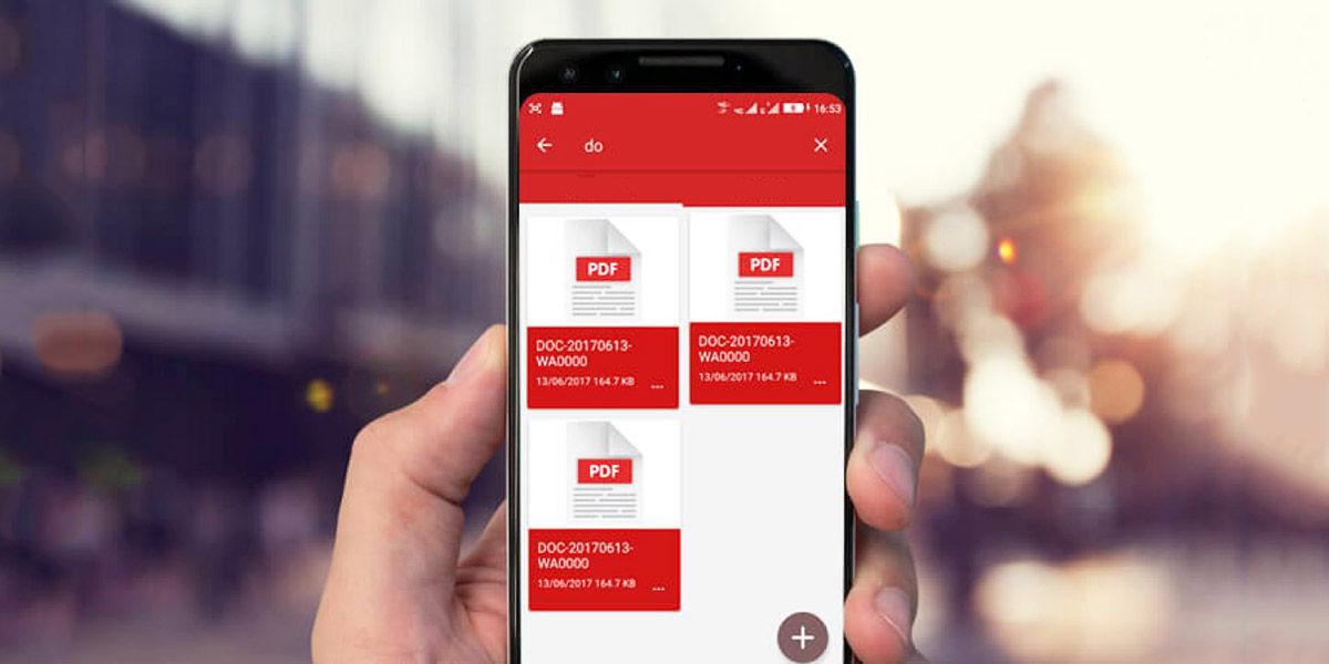 Aplicaciones gratuitas para editar PDFs en Android