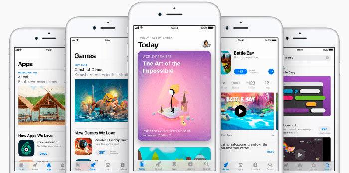 Aplicaciones mas descargadas iPhone