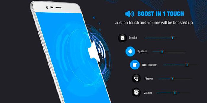 Aplicaciones para aumentar el volumen del android
