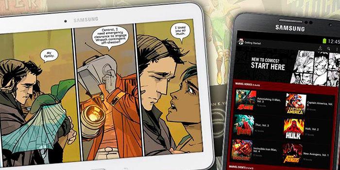 Aplicaciones para leer comics en android
