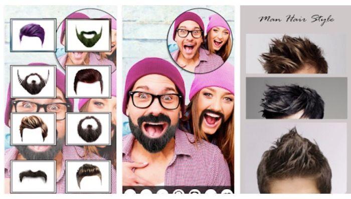 Aplicaciones para probar cortes de pelo en hombres