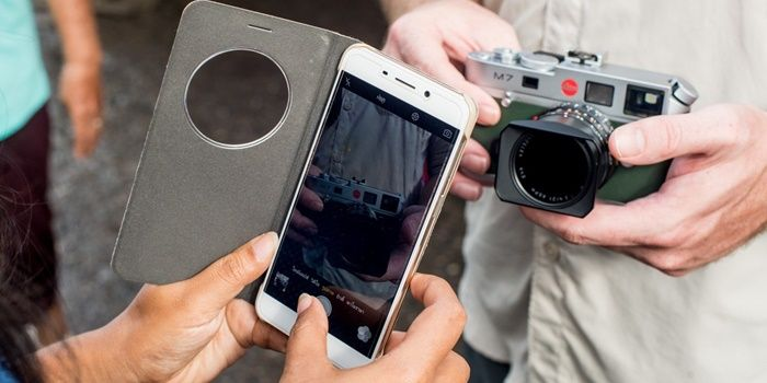 Aplicaciones para tomar fotos profesionales en Android