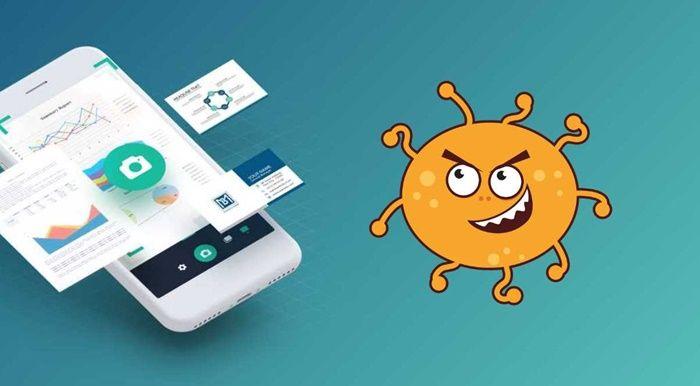 App CamScanner virus