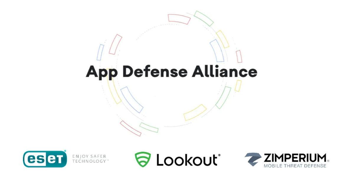 App Defense Alliance plataforma de Google en Play Store