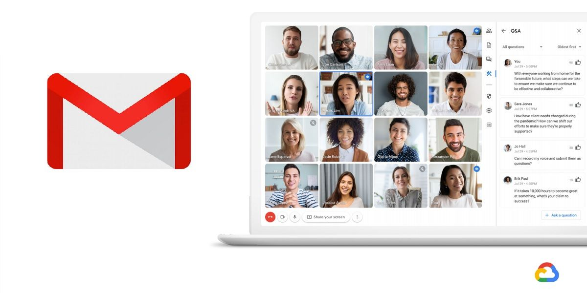 App Gmail cambiara para integrar el chat y videollamadas