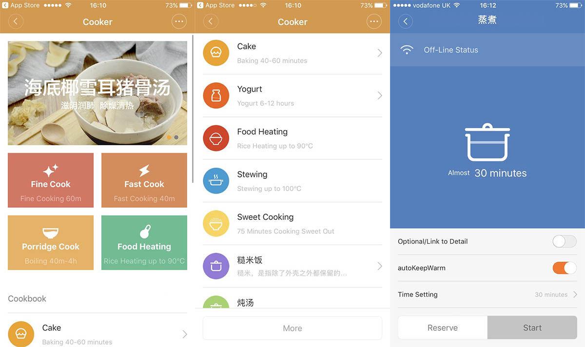 App arrocera Xiaomi