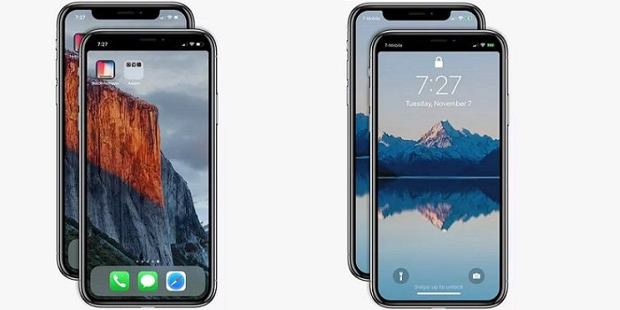 App eliminar el notch del iPhone X