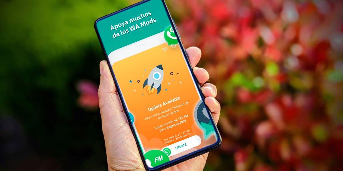 AppUpdater actualizar Mods de WhatsApp automaticamente