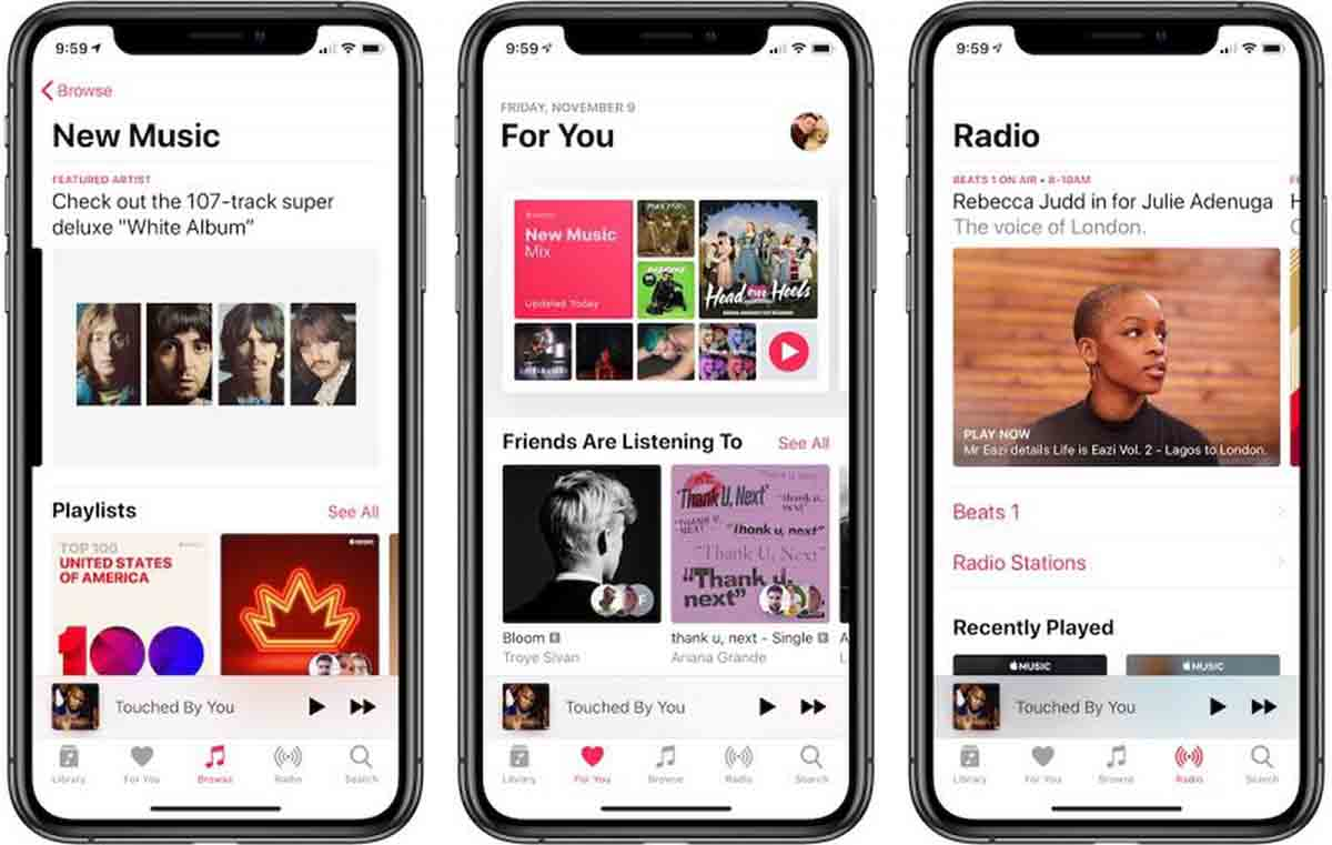 Apple Music app modo conducción