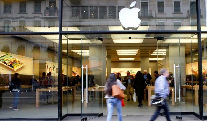 Apple Store en Zurich foto de Arnd Wiegmann File Photo