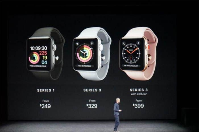 Apple Watch Series 3 precio