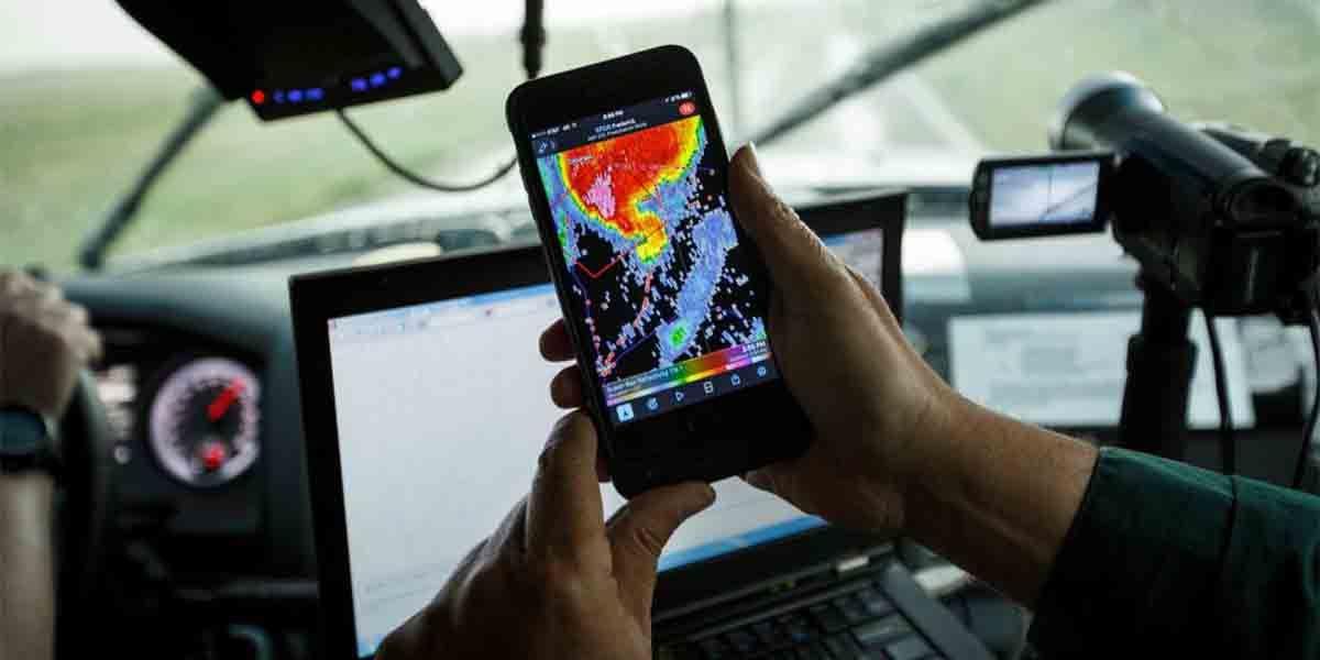 Apps alarma de lluvia Android