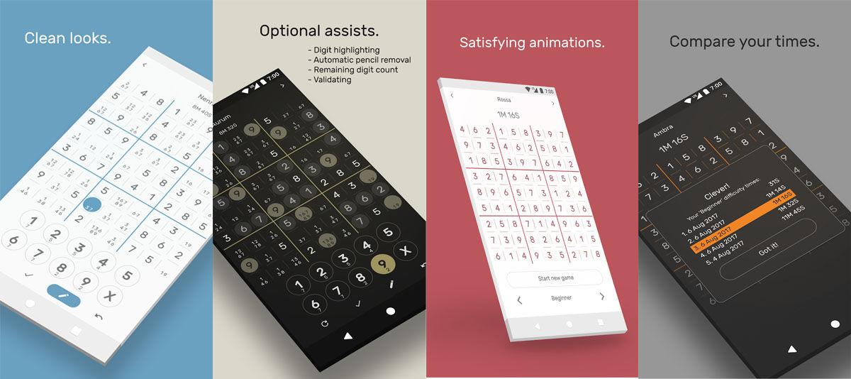 Apps de Android para hacer Sudokus de calidad en tu móvil