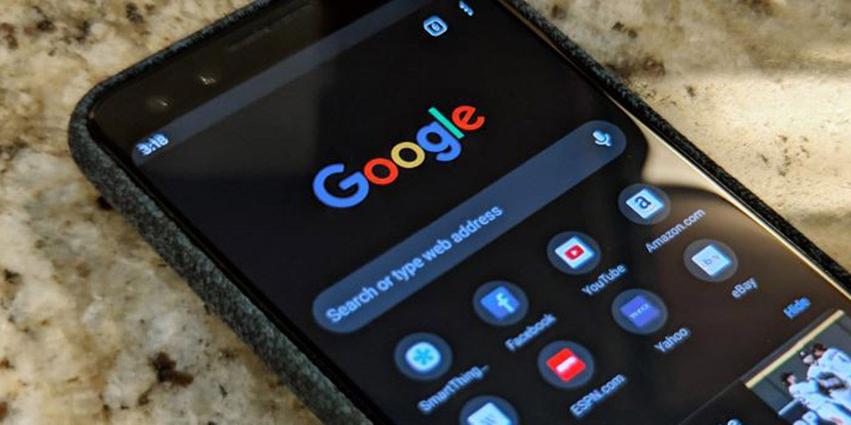 Apps de Google modo oscuro