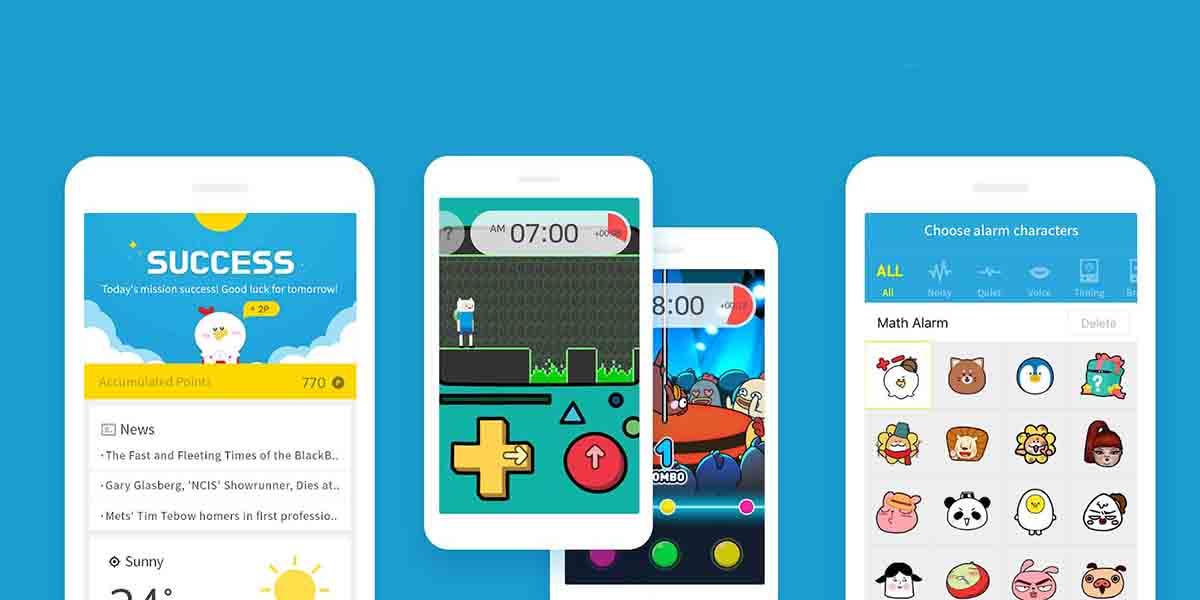 Apps para alarma en Android. AlarmMon
