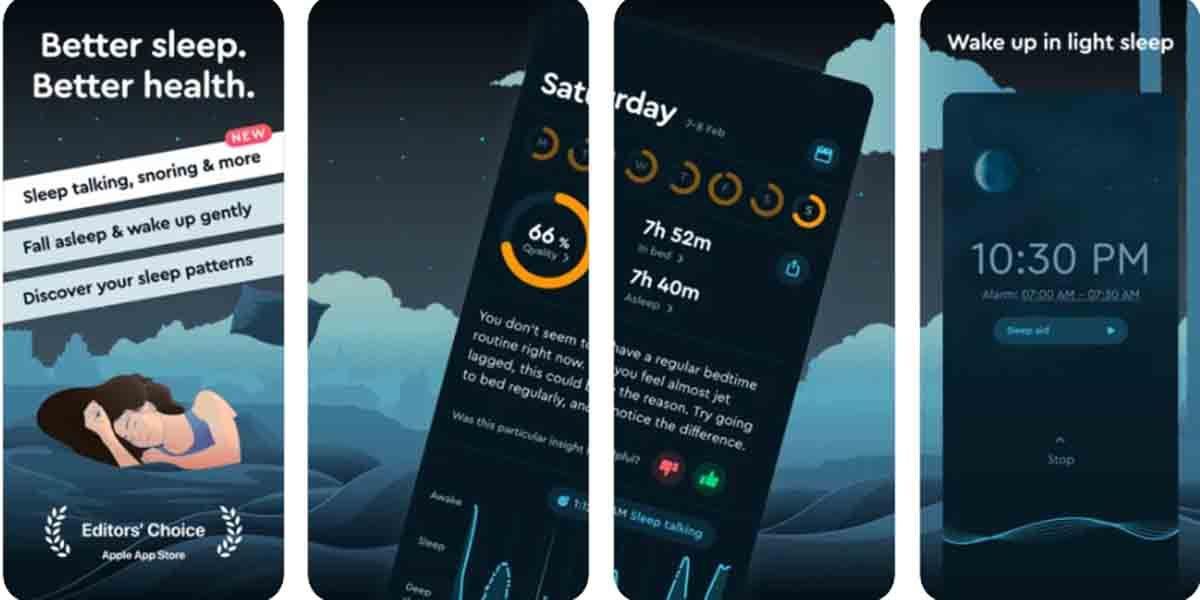 Apps para alarma en Android. Sleep Cycle