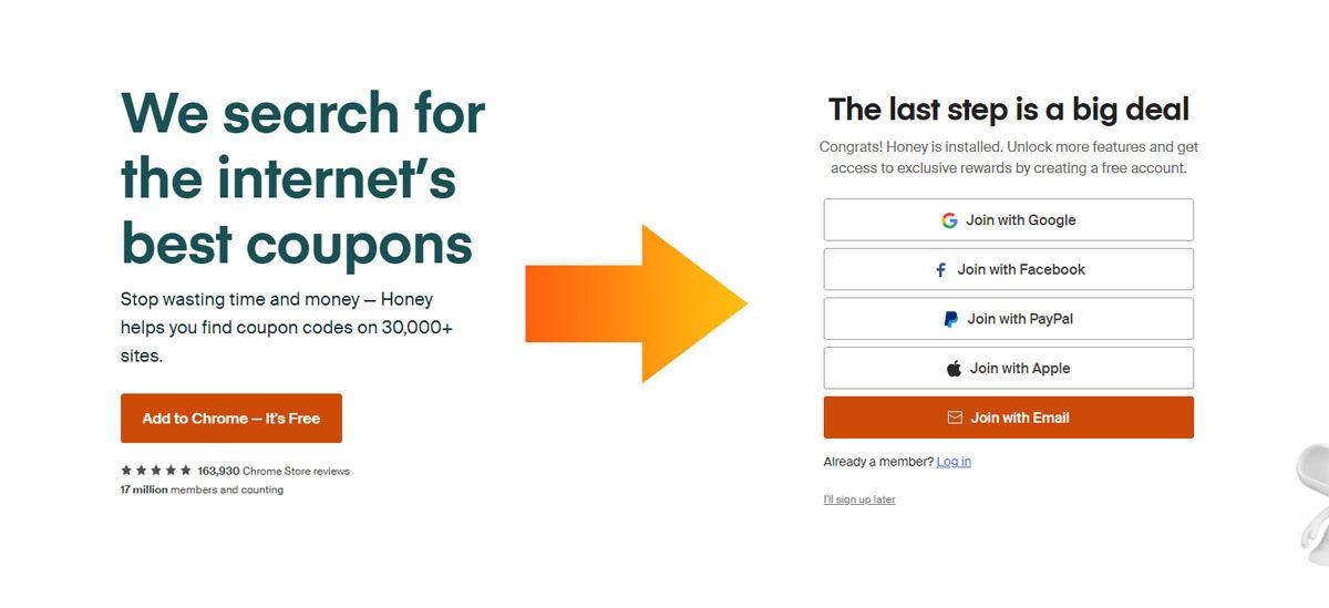 Aprovecha todas las ofertas, descuentos y promociones de la extensión de navegador Honey