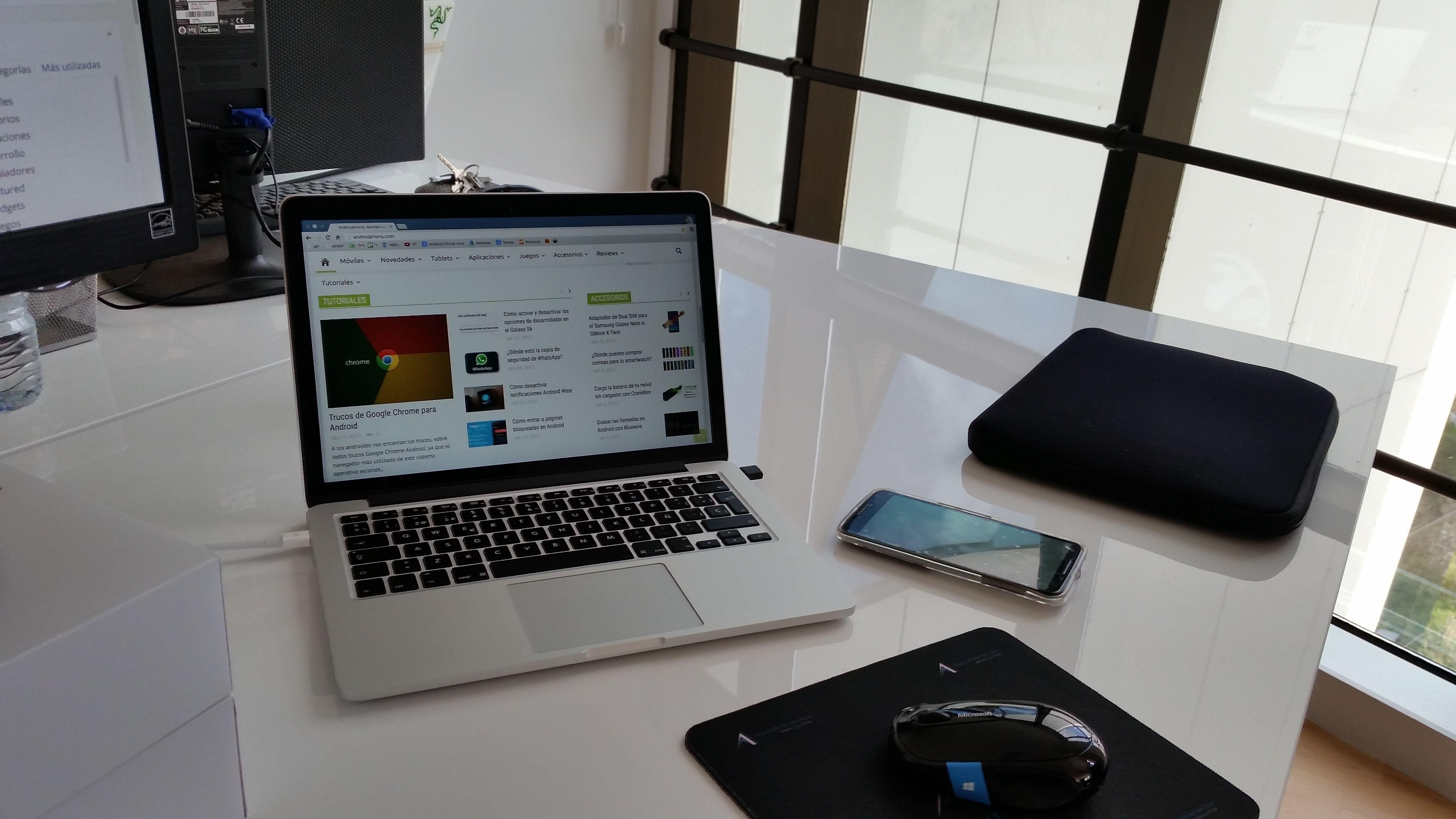 Archivos por Wifi de Android a Mac