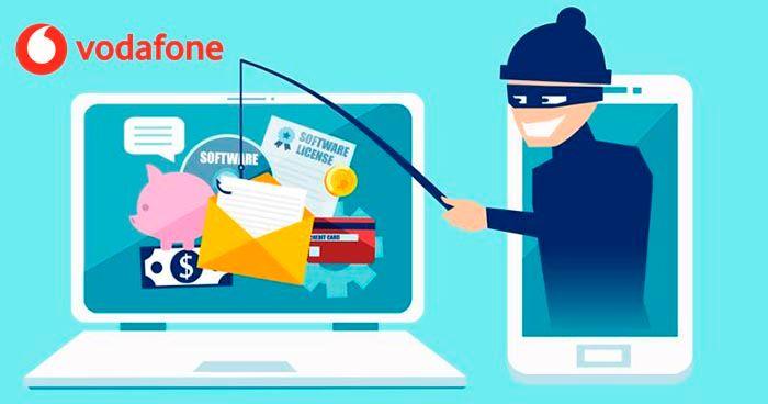 Archivos virus correo Vodafone estafa