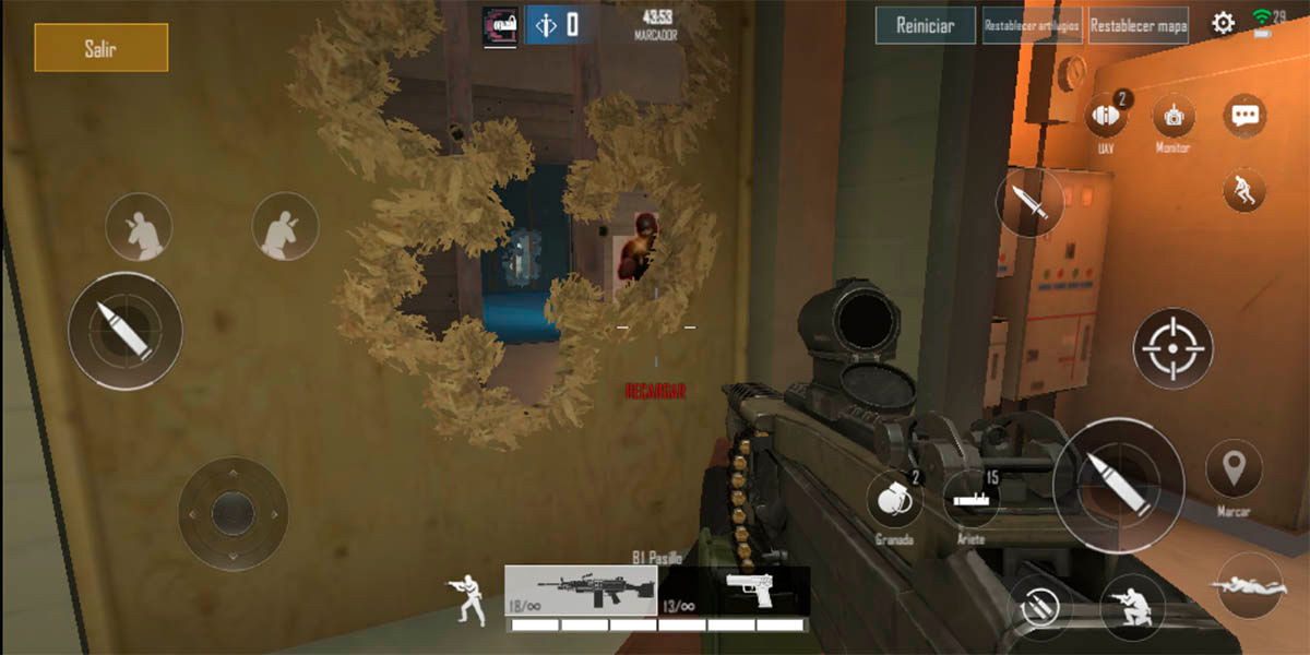 Area F2 juego similar Rainbow Six Siege Android