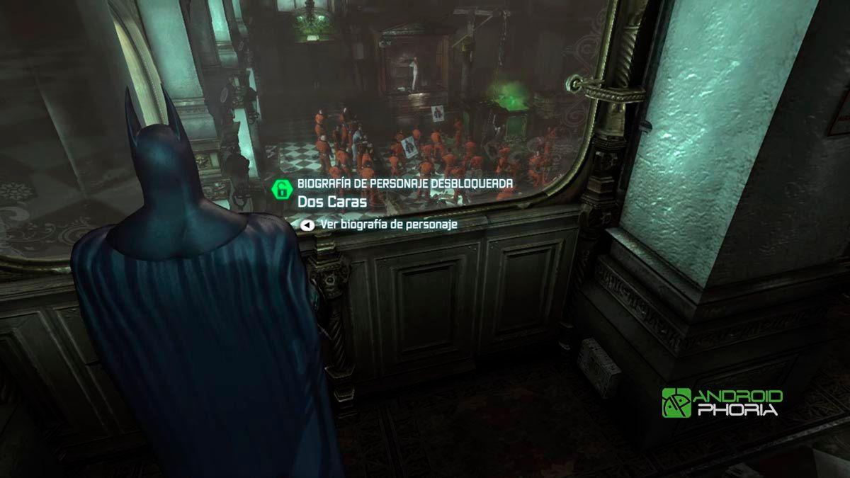 Arkham City en Nvidia Shield TV