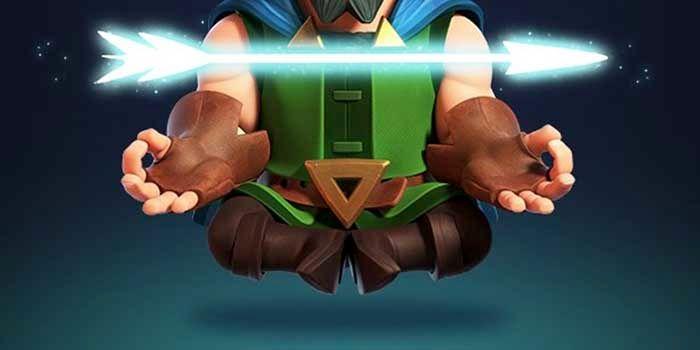 Arquero mágico nueva carta legendaria Clash Royale